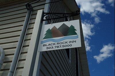Black Rock Inn sign